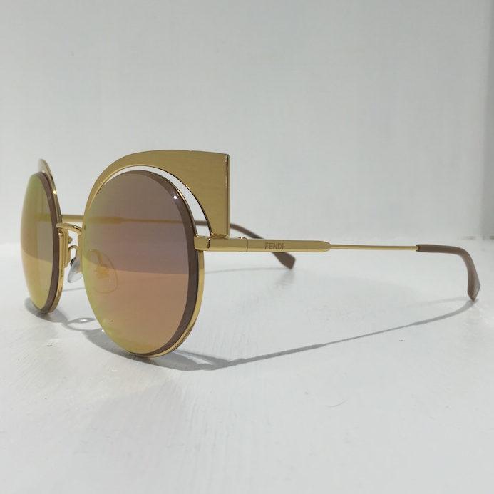 Fendi Eyeshine FF 0177/S 001 yellow gold