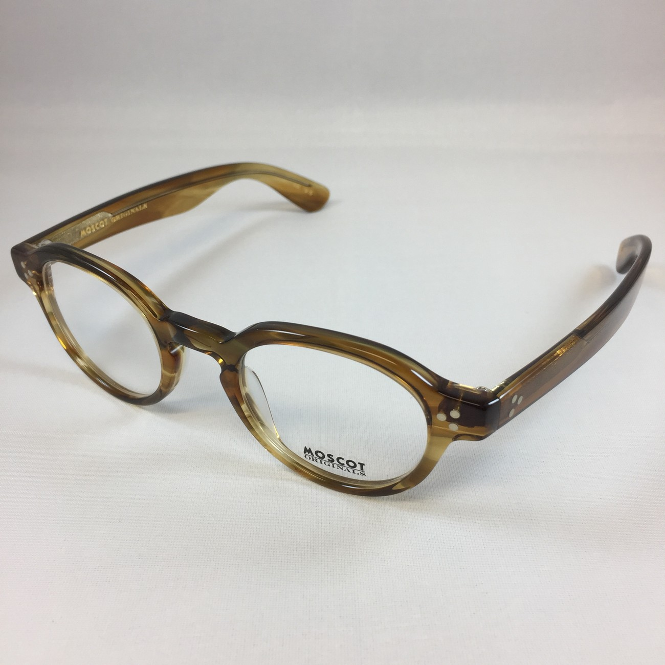 Moscot Ezra honey blonde